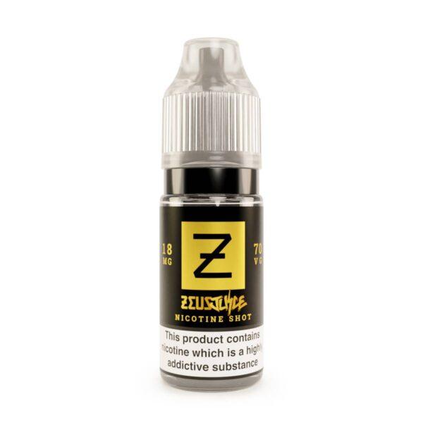 zeus juice 18mg nicotine shot white